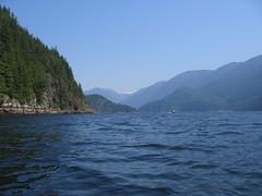 deep cove fjord