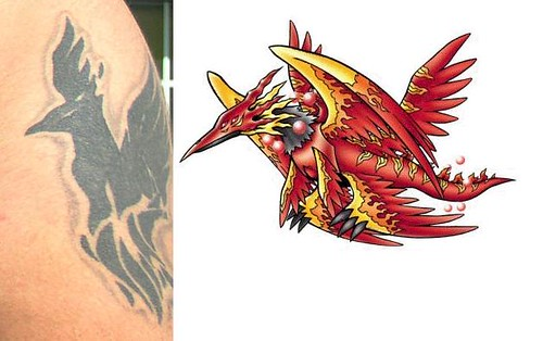 Tattoo's Origin The left is a