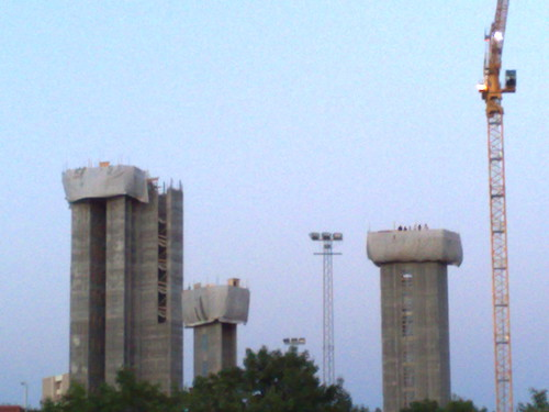 Springsteen 2008 - People on towers