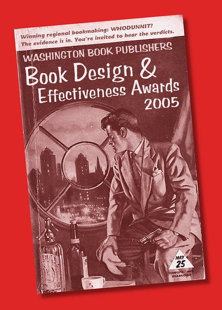 Washington Book Publishers award invitation