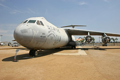 Lockheed C-141B Starlifter Transport-03 (wbryan) Tags: california vacation museum march riverside aircraft jets airplanes fighters airforce 2008 base airmuseum bombers tankers riversidecalifornia marchairreservebase aircraftdisplay airreservebase olderaircraft formermarchairforcebase