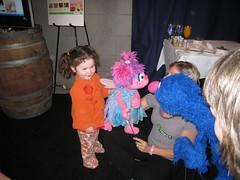 India Meets Abby Cadabby and Grover