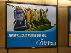 Air Tran rollercoaster
