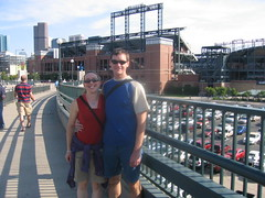 Clare & Dennis at Coors Field
