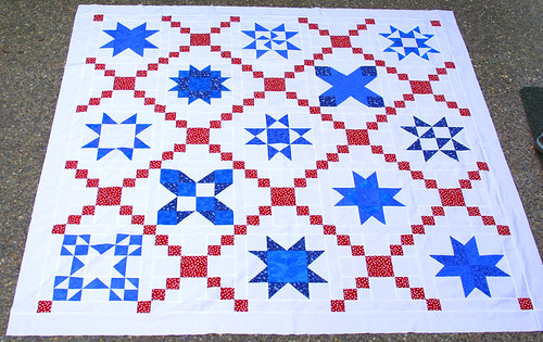 star quilt-along - top