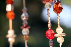 (Tanya M.) Tags: red orange beads wind indiana bead windchimes chimes mcconnell fortwayne ipfw displaygarden tanyamcconnell