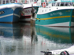 Boats, France 2008 (ralph&dot) Tags: france reflection reflections river boats boat ship photographer ships lower 2008 normandy ralph calvados deauville trouville gant digitalcameraclub touques france2008 alltypesoftransport