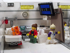 Partition One (Ble Star) Tags: hospital lego rory diorama mocpages moctag