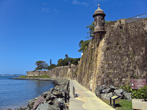 The historical route to San Juan