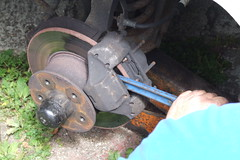VW T25 Brakes DIY repair #21
