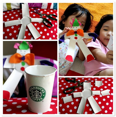 Crafting with Kids : Paper Cup Puppet