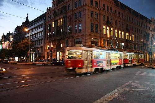 Tranvia en Praga