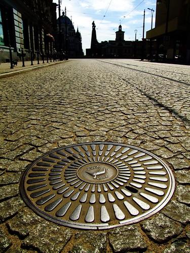 Manhole Cover, Lodz, Poland