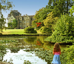Wakehurst Place garden in Sussex (Anguskirk) Tags: uk flowers trees england lake west building green english nature leaves stone kew gardens architecture rural woodland sussex pond wakehurst place royal eu botanic british mansion elizabethan nationaltrust anawesomeshot favoritegarden