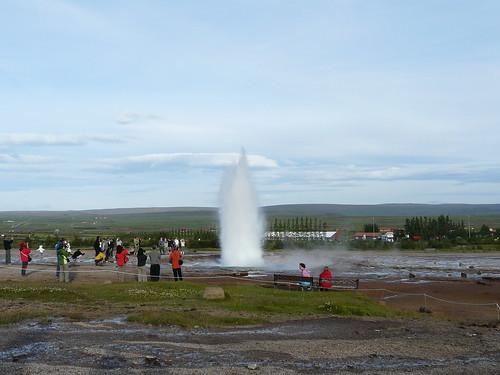 el geyser Strokkur