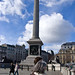 Mom with Nelson's Column
