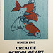 Susan Hudson (Vey) #7 of 20 signed Crealdé 1987 Screenprint of Koi