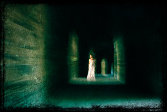 The white lady (Maron) Tags: green hall spirit ghost haunted spooky whitelady supermarion marionnesje