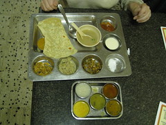 post-backwater thali