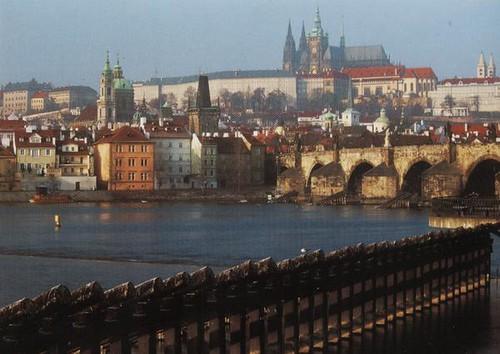 Praga y el Moldava