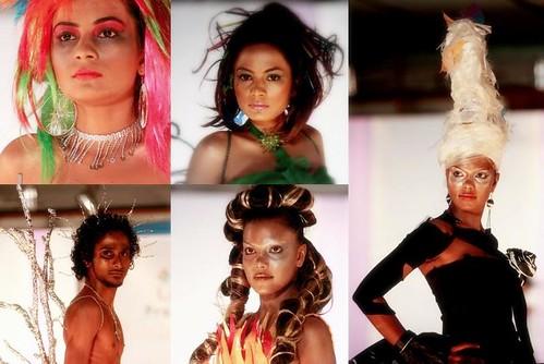 Runway 2008 Hair style and Make-up ` Cyza Saloon`