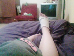 nowdays point of view (galit lub) Tags: people house foot bodylanguage  galit   minipost