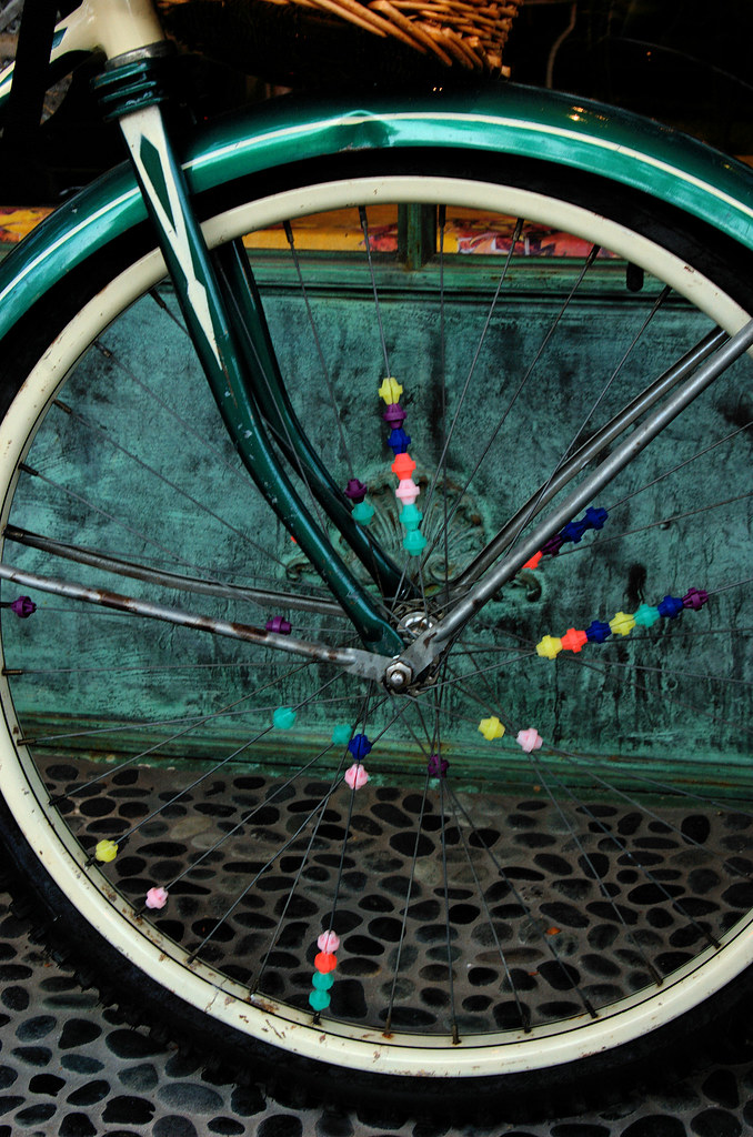 Colorful Spokes
