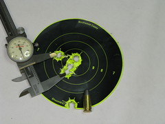 1 inch group at 25 yards.