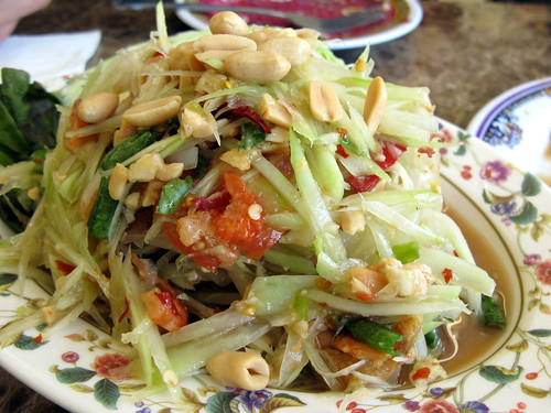 Green Papaya Salad at Sab E Lee