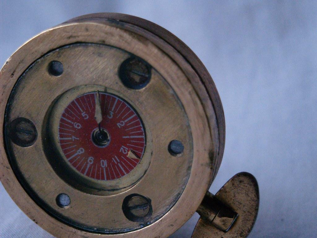 Bespoke Watch - 'Door Watch' - Industrial/Steampunk - Face