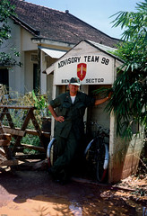 In Memories of Pre-1975 Vietnam Pics (Nguyen Ngoc Chinh) Tags: waite vietnam 1967 bienhoa macv advisoryteam98 ductu