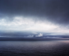 Staring is encouraged (Zeb Andrews) Tags: ocean sea storm 120 film clouds oregon mediumformat landscape dusk horizon relaxing pacificocean zen pacificnorthwest simple minimalist capemeares portra160vc pentax6x7 bluemooncamera zebandrews visiongroup vision100 zebandrewsphotography