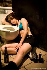 Sexy drunk women