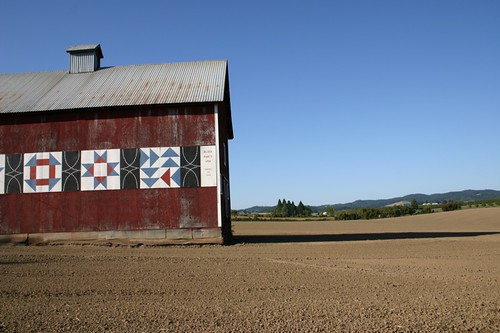 The barn in Yamhill, Oregon
