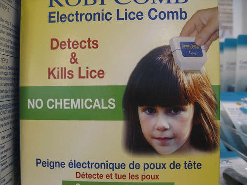 Electronic Lice Comb - Fred Meyer