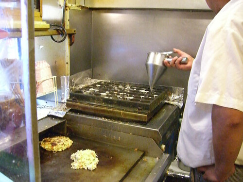 otafuku takoyaki making