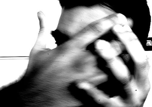 Hombre maltratado