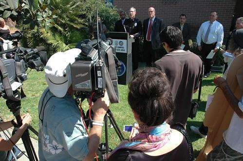 LAPD press conference