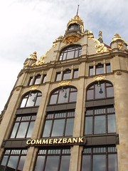 (PercyGermany) Tags: old gold bank leipzig kommerzbank percygermany kommerzbankleipzig