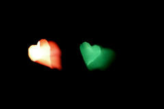 you make my heart jump (Funny Fish) Tags: red motion black blur green love hearts jump colours heart shapes move bump deutschetelekom invitedby