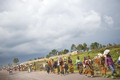 Thousands Flee IDP site in Kibati (UNHCR) Tags: poverty camp war refugee flight goma greatlakes relief hunger conflict soldiers government congo migration emergency asylum protection unhcr humanitarian distribution drc flee fleeing displaced displacement refugeecamp forcedmigration drcongo idp humanitarianaid massexodus democraticrepublicofcongo virunga massmovement northkivu peoplefleeing rebells kibati