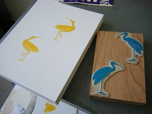 land bird series :: print #2 by you.