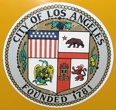 City of Los Angeles seal (twm1340) Tags: california ca city orange mexico losangeles spain heraldry republic olive calif socal leon seal rosary grape castile missionpadres