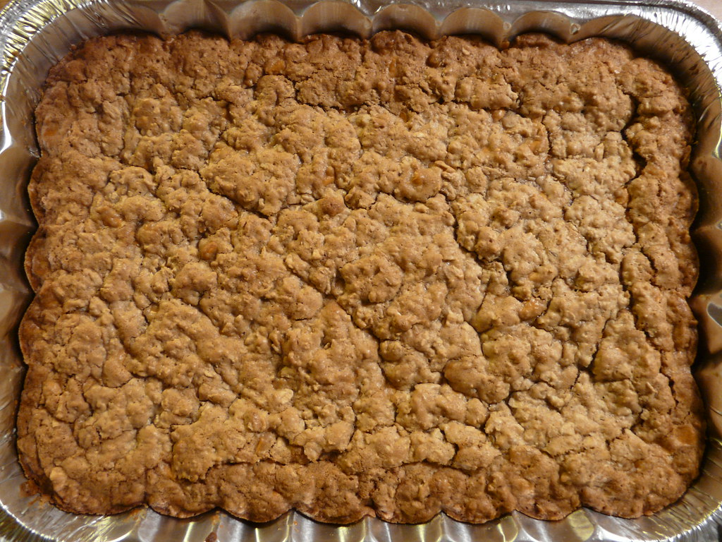 Oatmeal Butterscotch Cookie Bars