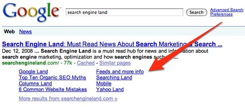 Sitelinks At Google