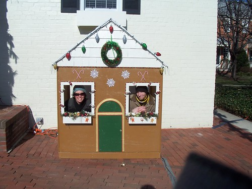 our little christmas house in alexandria