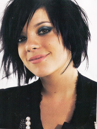 lily allen short haircut. lily allen