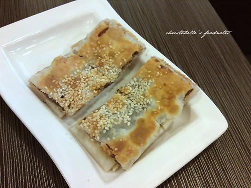 上海滬園湯包館豆沙鍋餅