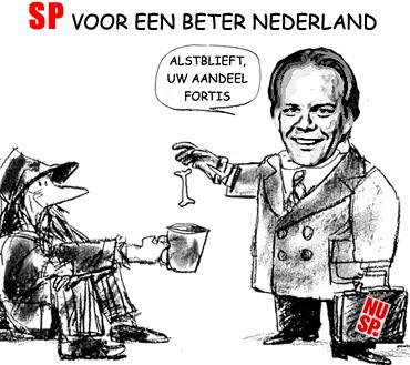 SP Ewout Irrgang Socialisme voor de rijken