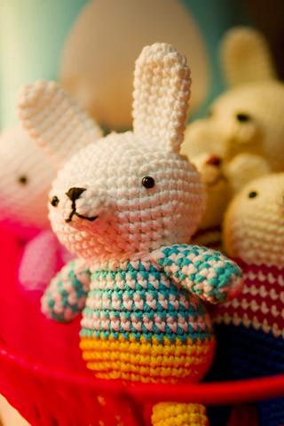 Amigurumi rabbit by Caballo Ganador